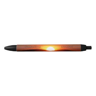 Burning Sunset Black Ink Pen