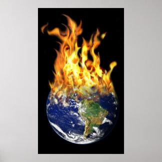 Burning World Poster