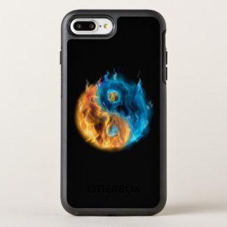 Burning Yin Yang OtterBox Symmetry iPhone 7 Plus Case