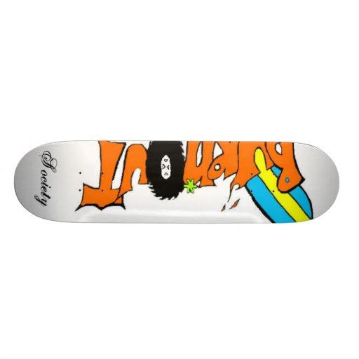 burnout 3, Society Skate Board Deck