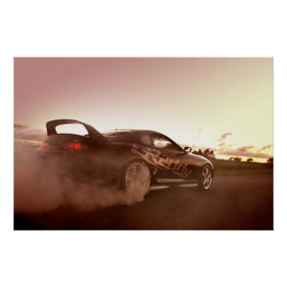 Burnout King Poster