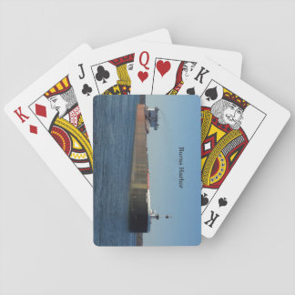 Burns Harbor playing cards