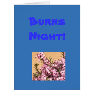 Burns Night! Card