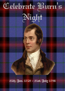 Burns night cards zazzle ca burns night greeting card m4hsunfo