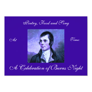 Burns Night Invitation