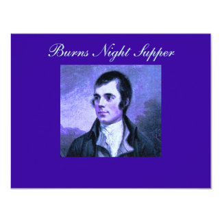 Burns Night Invitation - The Selkirk Grace