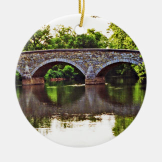 Burnside Bridge Antietam Ceramic Ornament