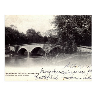 Burnside Bridge, Antietam MD Civil War 1906 Postcard