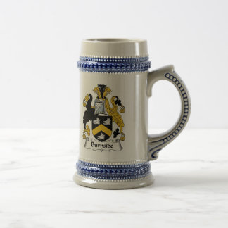 Burnside Coat of Arms Stein - Family Crest