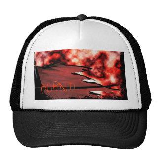 Burnt 1 trucker hat