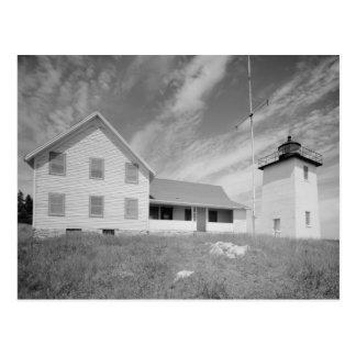 Burnt Coat Harbor Light Station Postcard
