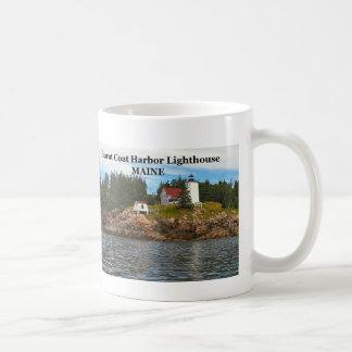Burnt Coat Harbor Lighthouse, Maine Mug