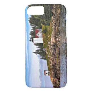 Burnt Coat Harbor Lighthouse, Swans Island Maine iPhone 7 Case
