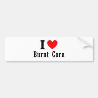 Burnt Corn, Alabama City Design Bumper Sticker