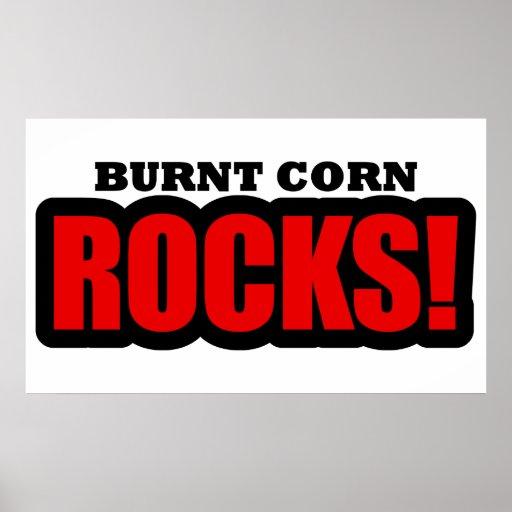 Burnt Corn, Alabama City Design Posters