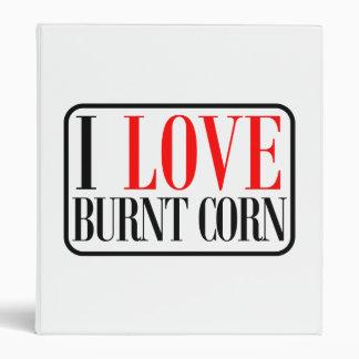 Burnt Corn, Alabama City Design Vinyl Binders