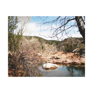 Burnt Creek Premium Wrapped Canvas Stretched Canvas Prints
