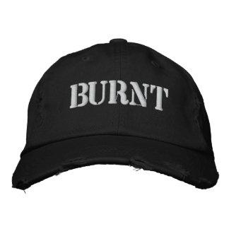 BURNT BASEBALL CAP