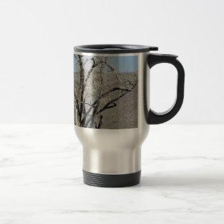 Burnt Gnarly Tree Travel Mug