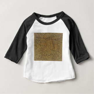 Burnt Gold Rough Start Baby T-Shirt