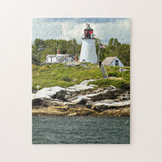 Burnt Island Lighthouse, Maine Puzzle