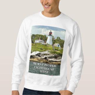 Burnt Island Lighthouse, Maine Sweatshirt