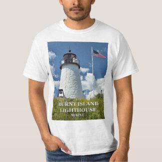 Burnt Island Lighthouse, Maine T-Shirt