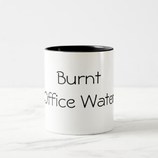 Burnt Office Water Two-Tone Coffee Mug