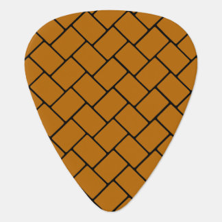 Burnt Orange Basket Weave 2 Pick