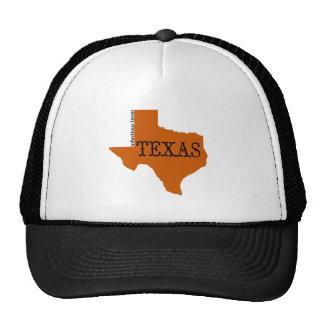 Burnt orange pride trucker hat