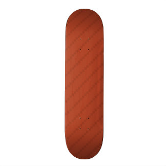 Burnt Orange Stripes, Striped Skate Board Decks