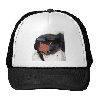 Burnt Paper Texture Trucker Hat