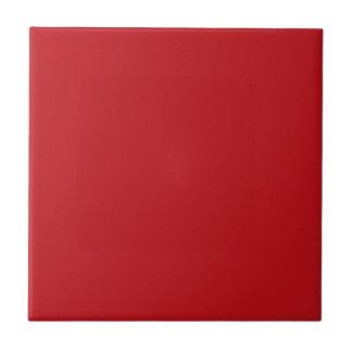 Burnt Red Background Tile