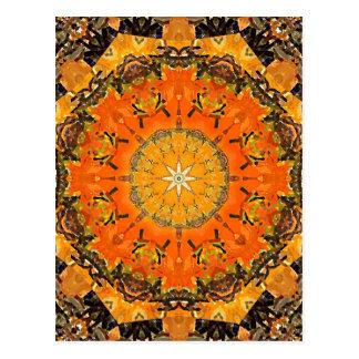 Burnt Sands Mandala Post Card