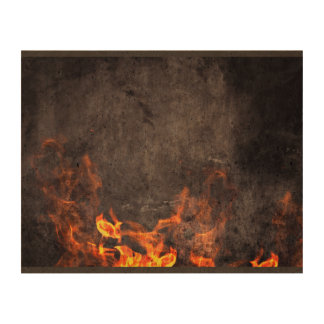 Burnt Themed Queork Photo Print