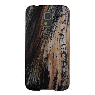 Burnt Tree Bark Texture Galaxy S5 Cover
