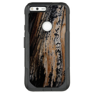 Burnt Tree Bark Texture OtterBox Commuter Google Pixel XL Case