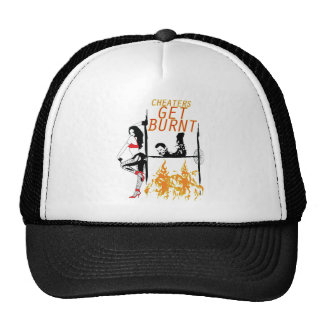 BURNT TRUCKER HAT