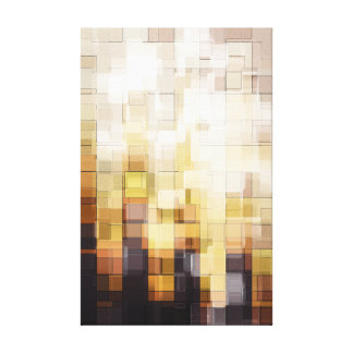 Burnt Wood Gallery Wrap Canvas