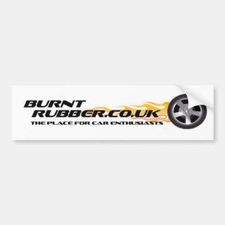 Burntrubber.co.uk Bumper Sticker