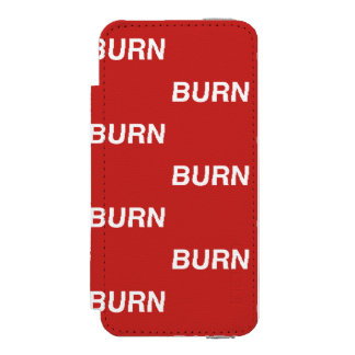 burnXburn red wallet case Incipio Watson™ iPhone 5 Wallet Case