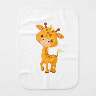 Burp Cloth/Baby Giraffe Burp Cloths