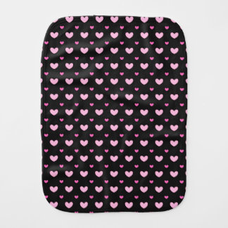 Burp Cloth Cute hearts