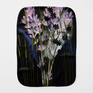 Burp Cloths WITH FLOWERS
