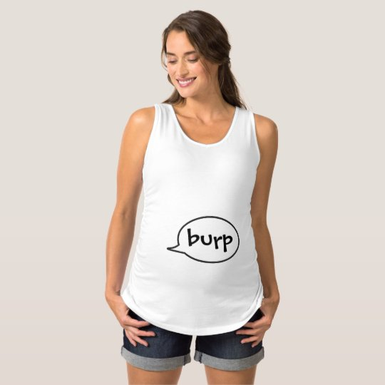 Burp Funny Pregnancy Top Maternity Section