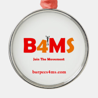 Burpees 4 MS ornaments