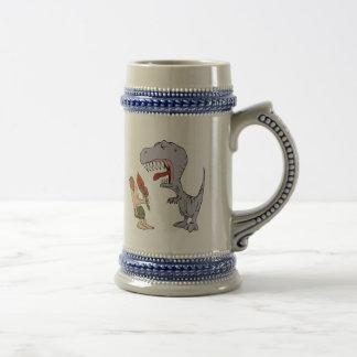 Burping Dinosaur Coffee Mugs