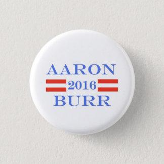 Burr 2016 1 inch round button