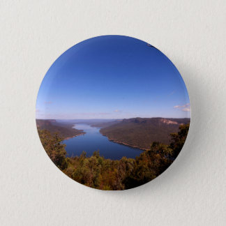 Burragorang Lookout 2 Inch Round Button