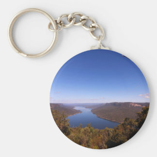 Burragorang Lookout Basic Round Button Keychain
